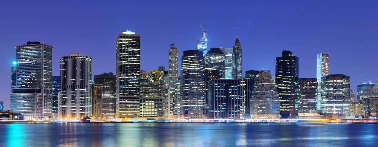 Allied Cleaning Services New York Business Skyline
